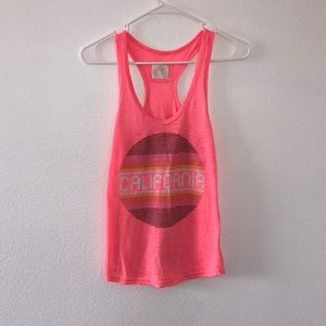 California Pink Tank Top